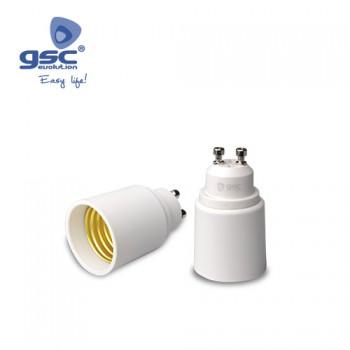 Lampenfassung Adapter GU10 - E27 Ref. 002201343