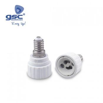 Lampenfassung Adapter E14 - GU10 Ref. 002201334