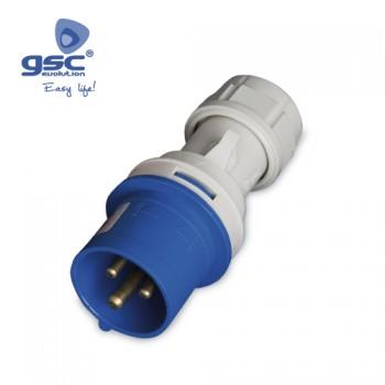 CEE-Stecker 3P (2P+PE) Ref. 002300332-002300333