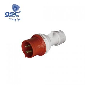 CEE-Stecker 4P (4P+PE) Ref. 002300384-002300385