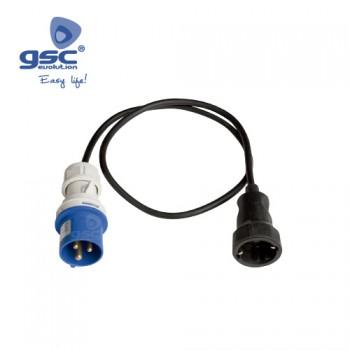 Adapterleitung CEE auf Schuko  Ref. 002300233