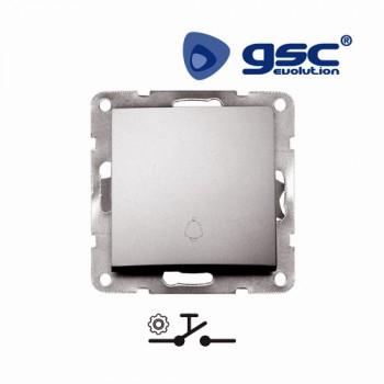 Unterputz Klinge Schalter  Iota  (Silbergrau) Ref. 103500007