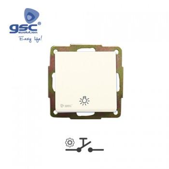 Unterputz Lichtschalter (Weiß) Ref. 000201004