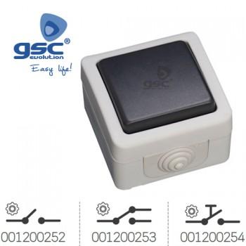 Aufputzschalter für Feuchtraum Ref. 001200252-001200253-001200254