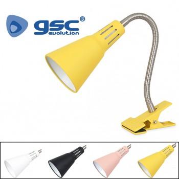 Schreibtischlampe mit Klamme Nuka Ref. 204200000-204200001-204200002-204200003