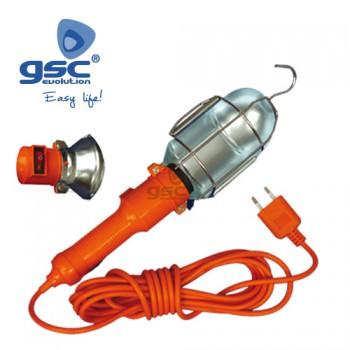 Industrielle tragbare Lampe Ref. 000600472-000600197