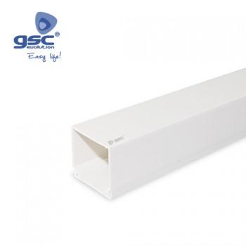 Kabelkanal mit Schraubbefestigung PVC 2M Ref. 000300616-000300617-000300618-000300619-000303359-000300620-000300621