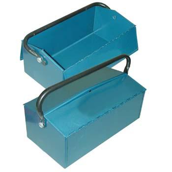 Metall Werkzeugkasten (400x215x110 mm)