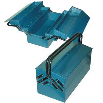 Metall Werkzeugkasten mit 5 Fächern