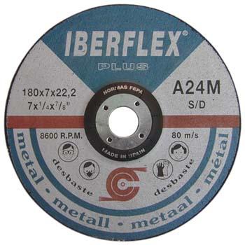 Schruppscheibe A24M für Stahl