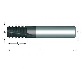 J220 - MF Gewindefräser Spiralnut 10°