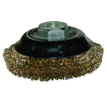 Topfbürsten mit Gewinde für hohe Drehzahl  (85 mm)