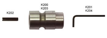 K203 - Ersatzteile für Abstechwerkzeuge