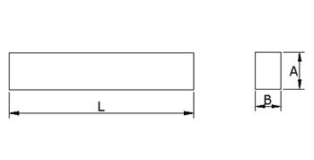 K522 - Drehlinge Rechteck h13