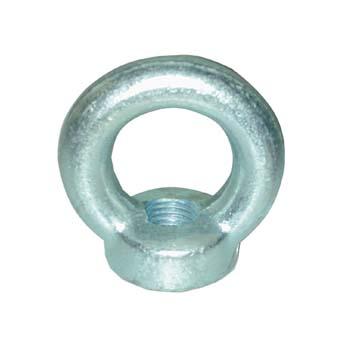 Ringmuttern aus Stahl verzinkt