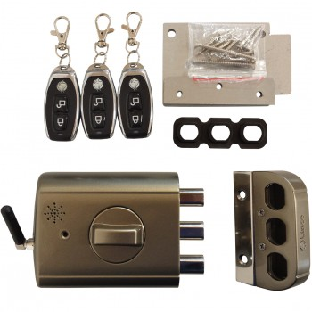 Elektronisches Kastenriegelschloss mit Alarm LINCE SUPRATRONIK Ref. 4940TK