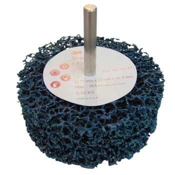 Grobreinigungsscheibe SCOTCH-BRITE™ Blau für universelle Reinigungssanwendungen