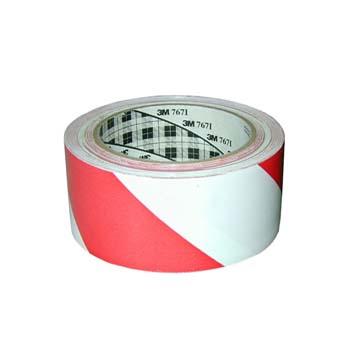 Selbstklebend zweifarbige Kunstoff-Warnband