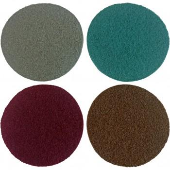Conditioning-Faservliesscheibe mit Aluminiumoxid (A) oder Siliciumcarbid (S)