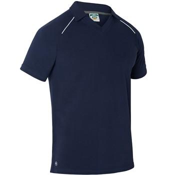 Pique Polo-Shirt mit kurze Ärmeln und Kuvertausschnitt Mod. 3016
