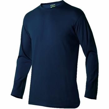 Baumwolle T-shirt langärmlig und Rundhalsausschnitt Mod. 3032