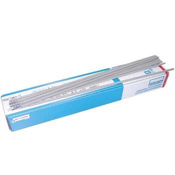 Basisch-umhüllte Stabeelektrode für wetterfesten Stählen