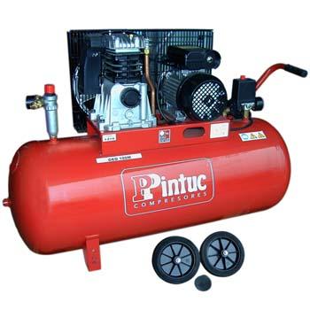 PINTUC GEO 100M Kompressor mit Riemenantrieb