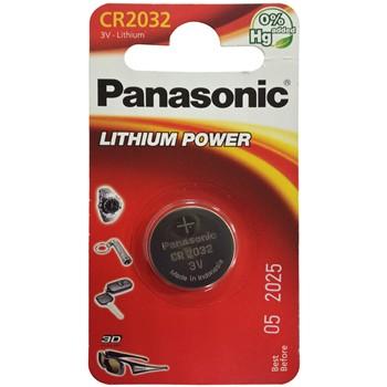 KNOPFZELLE PANASONIC CR2032 VON 3 V.