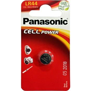 KNOPFZELLE PANASONIC LR44 VON 1,5 V.