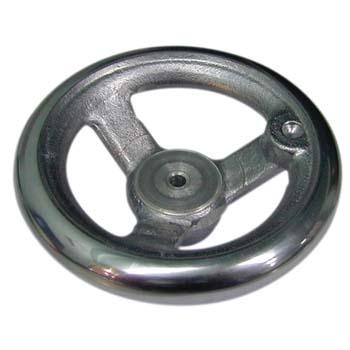 Aluminium Speichenhandrad DIN 950-A4 ohne Gewindeeinsatz für Handkurbel
