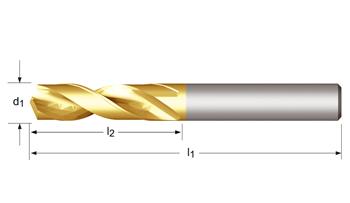 R520 - CDX Spiralbohrer, kurz