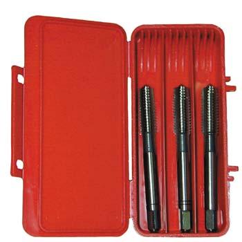 Metrisch Handgewindebohrer,  DIN 352, 3-tlg Ref. E100