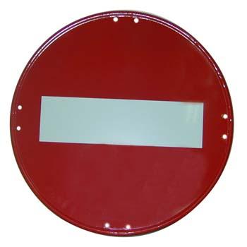 Verbot der Einfahr Zeichen Ref. R-101.