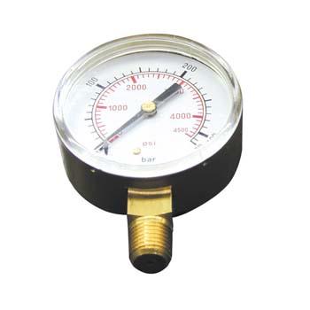 Manometer für Sauerstoff-Druckminderer