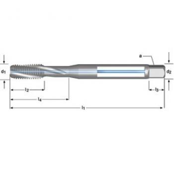 T206 - M Maschinen-Gewindebohrer, Rechtsgedrallte Nuten 15°, Innenkühlung