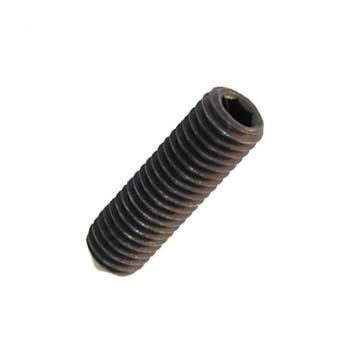 Metrische  Gewindestifte mit Spitze, mit Innensechskant  DIN 914 aus Stahl (12.9)