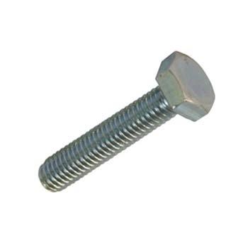 Sechskantschrauben, Vollgewinde Metrisch DIN 933, Stahl verzinkt 8.8