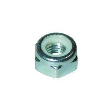Stahl (C-8) metrische Sechskantsicherungsmuttern DIN 985