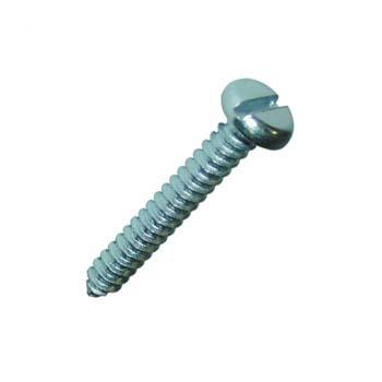 Verzinkte Zylinder-Blechschrauben mit Schlitz  DIN 7971