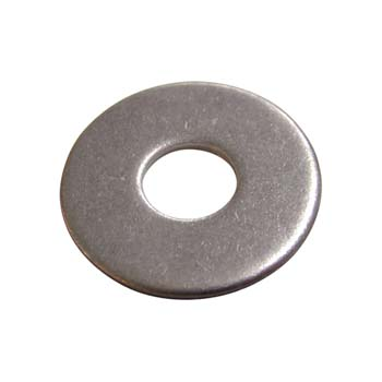 Scheiben. Außendurchmesser = 3x Schraubendurchmesser, DIN 9021 Edelstahl A2.