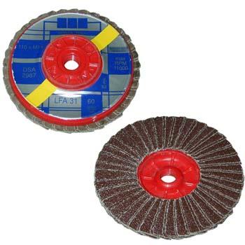 Lamellenschleifteller  mit M-14 metrische Gewinde
