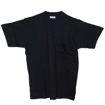 Baumwolle T-Shirt mit kurze Ärmeln und Brusttasche