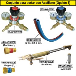Produkte mit Acetylen Schneiden (Option 1)