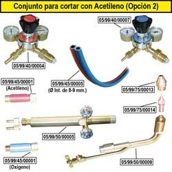 Produkte mit Acetylen Schneiden (Option 2)