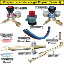 Produkte Propangas Schneiden (Option 2)